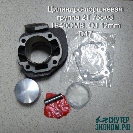 ЦПГ 2Т 75см3 1E40QMB, QJ 12mm D47