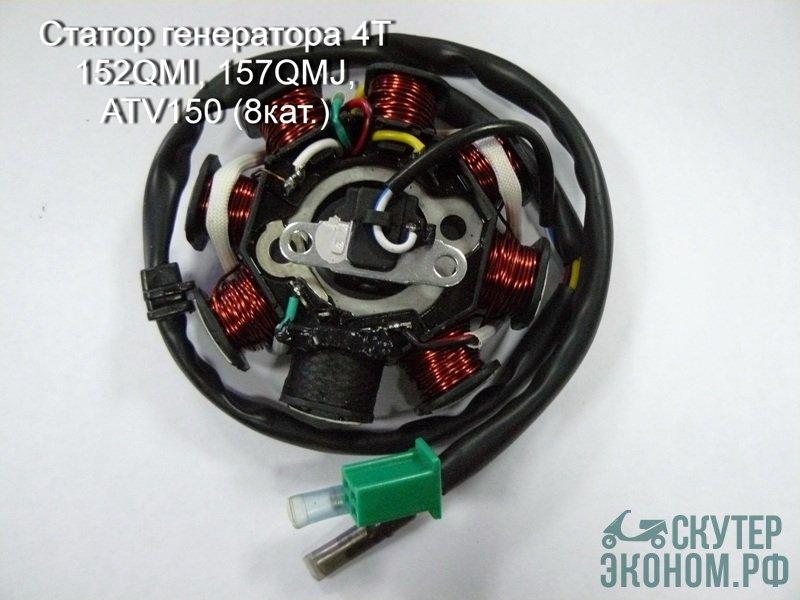 Статор генератора 4T 152QMI, 157QMJ, ATV150 (8кат.)