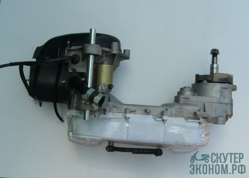 Двигатель в сборе 1E40QMB 2t 50cc