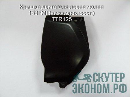Крышка двигателя левая малая 153FMI (нижн.электрост.) TTR125