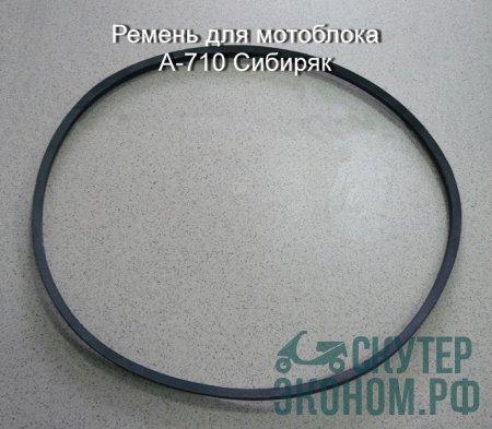 Ремень для мотоблока А-710  м/б Сибиряк