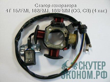 Статор генератора 4Т 157FMI, 162FMJ, 166FMM (CG, CB) (4 кат.)