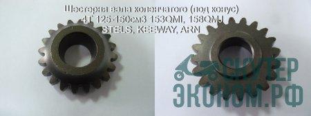 Шестерня вала коленчатого (под конус) 4T 125-150см3 153QMI, 158QMJ STELS, KEEWAY, ARN